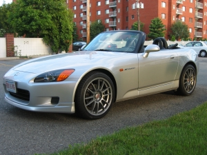 Highlight for Album: Honda S2000 with OZ Wheels