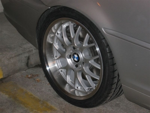 Highlight for Album: ASA AR1's 18x8 and 18x9 on my BMW 330CIc