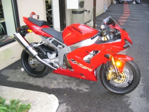 Highlight for Album: 2003 Kawasaki ZX-6R
